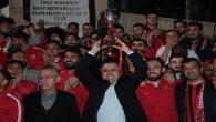 Yozgatspor'a muhteşem karşılama