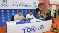Yozgat'ta TOKİ'de 708 konutun hak sahibi kura ile belirlendi