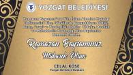 Yozgat Belediye Başkanı Köse'den Ramazan Bayramı mesajı