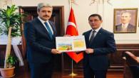 Türkmenistan Büyükelçisinden Başkan Köse'ye ziyaret