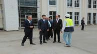 Vali Çakır, okul inşaatları ve kamu yatırımlarını inceledi