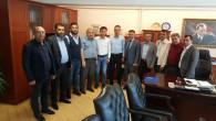 AK Parti İl ve İlçe Teşkilatından Yılmaz'a hayırlı olsun ziyareti