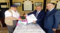 Sivas Vakıflar Bölge Müdürü Karaca'dan Şahin'e teşekkür
