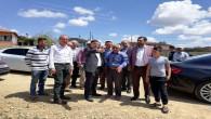 Başer, Köylerde sel ve doludan zarar gören çiftçileri ziyaret etti