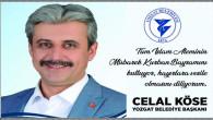 Yozgat Belediye Başkanı Celal Köse Yozgat halkının bayramını kutladı