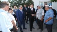 Vali Çakır, Yerköy TMO'da incelemelerde bulundu