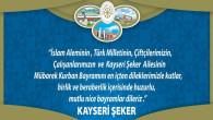 Kayseri Şeker Yozgat halkının bayramını kutladı