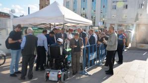 Yozgat Belediyesi Bin 500 kişiye aşure dağıttı