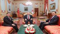 Vali Çakır ve Başer'den TBMM Başkanı Şentop'a ziyaret