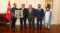 Özel Derman Bakım Merkezinden Vali Çakır'a ziyaret