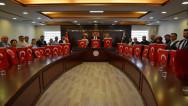 Belediye Meclis Üyeleri Barış Pınarı Harekatına destek için toplandı