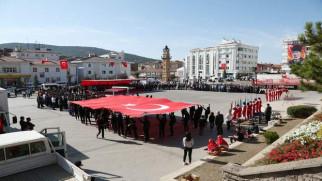 Atatürk'ün Yozgat'a Gelişinin 95. Yıl dönümü törenle kutlandı