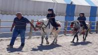 AYÇ öğrencilerine, at biniciliği eğitimi de veriliyor