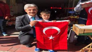 Başkan Köse'den Barış Pınarı Harekâtına bayraklı destek