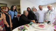 Yozgat Şehir Hastanesinden hasta ve hasta yakınlarına pastalı moral