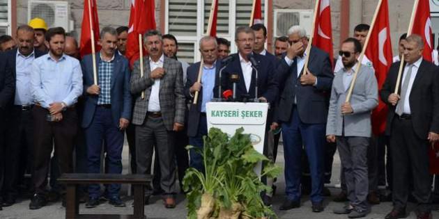 Kayseri Şeker'den Mehmetçiklere Fetih Süresi ile manevi destek