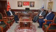Başsavcı Uçak ve Adalet Komisyonu Başkanı Sazak'tan Belediye Başkanı Köse'ye ziyaret