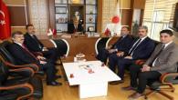 Bozdağ'dan Rektör Karadağ'a ziyaret