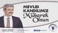Yozgat Belediye Başkanı Köse, Yozgat halkının Kandilini kutladı