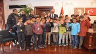 Başkan Köse, Kapadokya Futbol Turnuvasının şampiyonlarını ağırladı