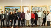Takirdağ Hastanesi Başhekimi ve yöneticilerinden Yozgat Şehir Hastanesine ziyaret