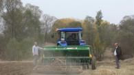 Yerli atalık buğdayın ekimi yapıldı