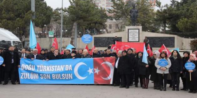 Yozgat Sivil İnisiyatif Platformundan Çin zulmüne tepki