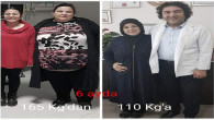 Aynı aileden iki kişi mide küçültme ameliyatı ile kilolarından kurtuldu