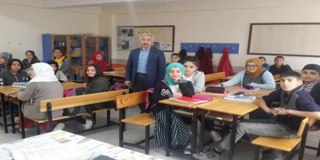 İlçe ve köy okullarında rehberlik eğitimi verildi