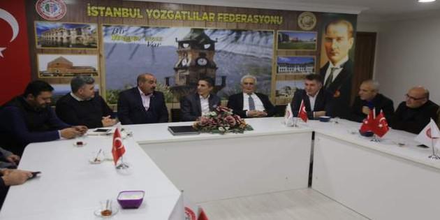 Başkan Çodar'dan DUYKON Genel Başkanı Yılmaz'a ziyaret
