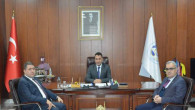 Milletvekili Sedef'ten Başkan Ekinci'ye ziyaret