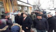 Milletvekili Sedef, Yerköy'de esnaf ziyaretlerinde bulundu