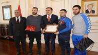 Vali Çakır: Avrupa Şampiyonunu ödüllendirdi