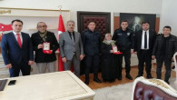 Şefaatli'de Kıbrıs gazilerine devlet övünç madalyası verildi