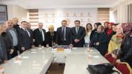 AK Partiler Cumhurbaşkanı Erdoğan'ın doğum gününü kutladı