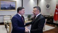 Başer'den Cumhurbaşkanı Yardımcısı Oktay'a ziyaret