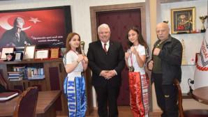 Türkiye Kick Boks Şampiyonundan Yazıcı'ya ziyaret