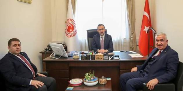 Milletvekili Sedef'ten, Bakan Kasapoğlu'na ziyaret