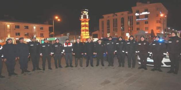 Yozgat'ta polis ve jandarmadan Huzur Uygulaması