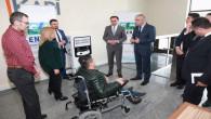 Yozgat Valiliği'ne akülü sandalye şarj istasyonu kuruldu