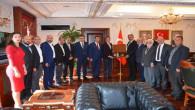 DUYKON Başkanı Yılmaz ve yönetiminden Başkan Köse'ye ziyaret
