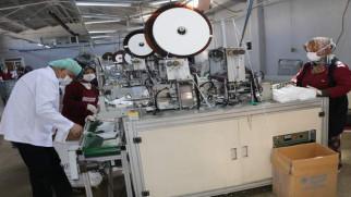 Günlük maske üretim kapasitesini 80 Bin'den 300 Bin'e çıkardı