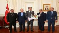 SMMMO Başkan ve üyelerinden Vali Çakır'a ziyaret