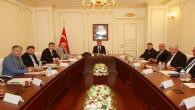 Vali Çakır, başkanlığında Koranavirüs toplantısı yapıldı