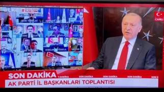 Başkan Dursun, Telekonferans yolu ile Cumhurbaşkanı Erdoğan'la görüştü