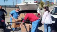 Akdağmadeni Belediyesinden hastaneye tıbbi malzeme yardımı