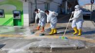 Yozgat Belediyesinden salgınla mücadele eden personeline 700TL destek