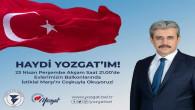 Başkan Köse, Yozgatlıları 23 Nisan'da balkonlara davet etti