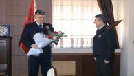 Albay Yeşilyurt'tan Emniyet Müdürü Esertürk'e ziyaret