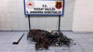 Jandarma'dan kablo hırsızlarına suçüstü